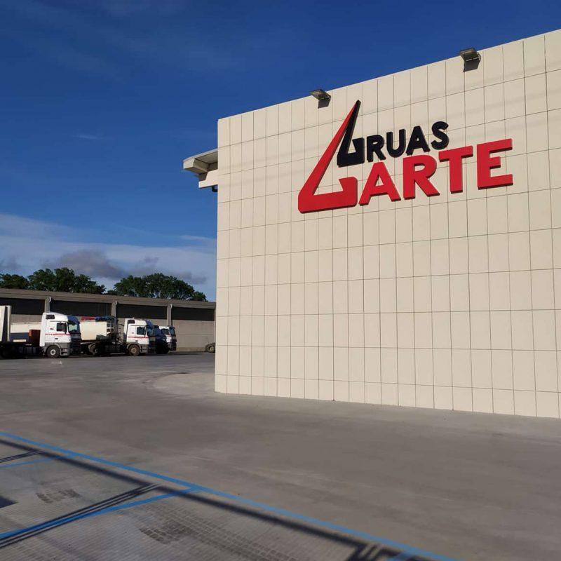 Nuevas instalaciones Grúas Garte Logroño